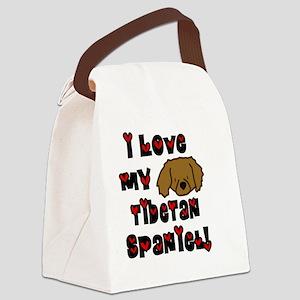 generic_lovetibetanspaniel Canvas Lunch Bag