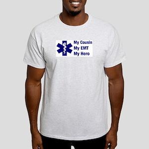 My Cousin My EMT Ash Grey T-Shirt