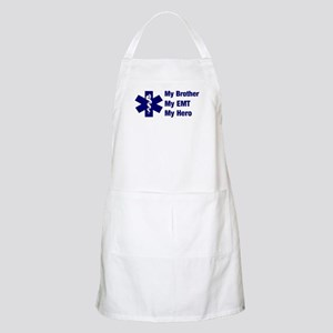 My Brother My EMT BBQ Apron