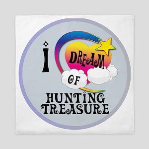 I Dream of Hunting Treasure Queen Duvet