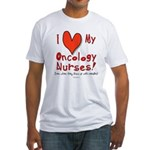 Love My Nurses Fitted T-Shirt