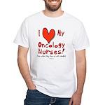Love My Nurses White T-Shirt
