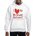 Love My Nurses Hooded Sweatshirt