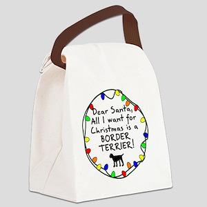 ds_borderterrier Canvas Lunch Bag