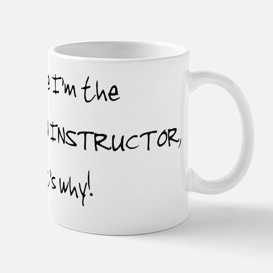 percussioninstructor_black Mug