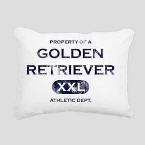 propertyof_goldenret Rectangular Canvas Pillow