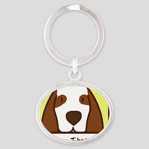 anime_bracco Oval Keychain