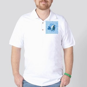 imblue_ornament Golf Shirt