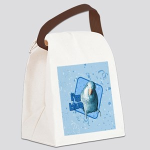 imblue_ornament Canvas Lunch Bag