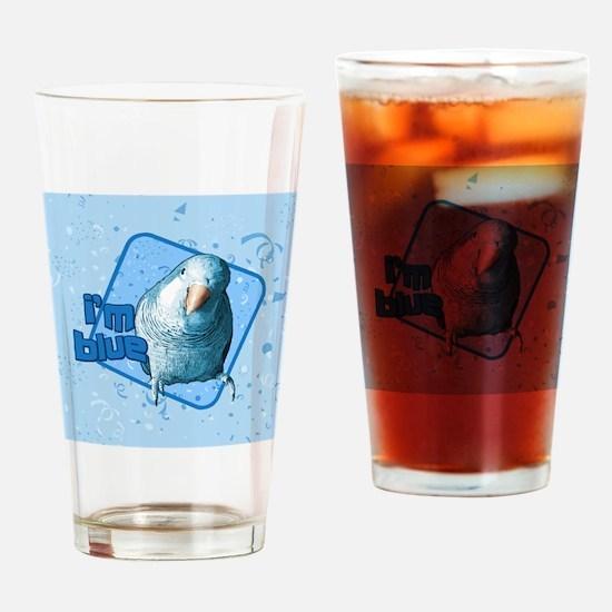 imblue_tile Drinking Glass