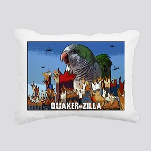 quakerzilla Rectangular Canvas Pillow