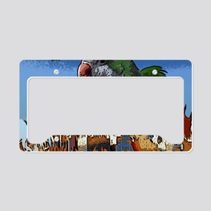 quakerzilla License Plate Holder