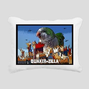quakerzilla_card Rectangular Canvas Pillow