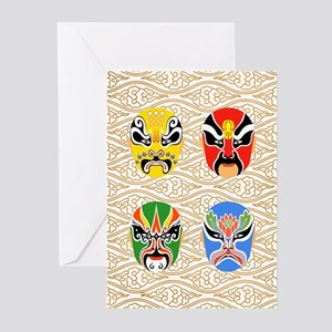 Peking Opera Hualian - 10 Pack Greeting Cards