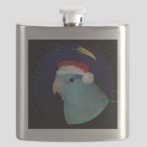 christmasnight_parrotletblue Flask