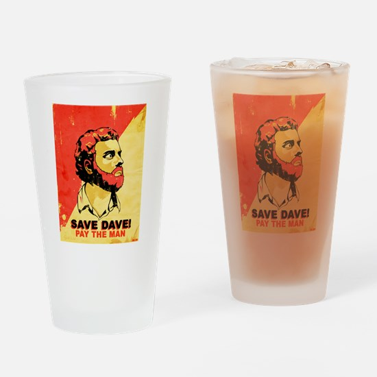 savedave.jpg Drinking Glass