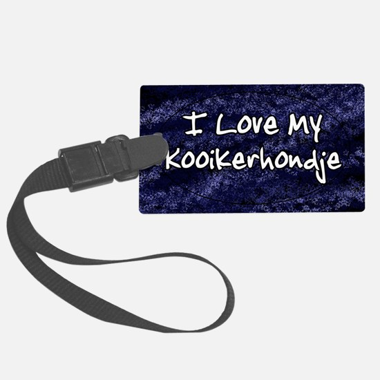 funklove_oval_kooiker Luggage Tag