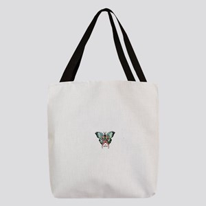 SIS Butterfly wo motto Polyester Tote Bag