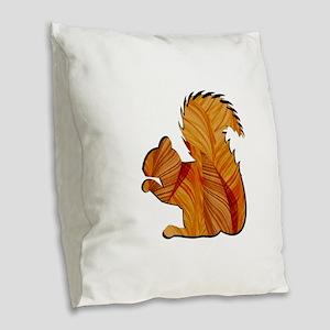 EARLY AUTUMN Burlap Throw Pillow