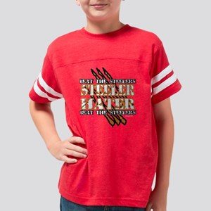 STEELERHATERBLTRANS Youth Football Shirt