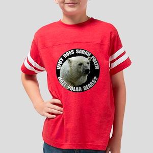 bears2-bow Youth Football Shirt