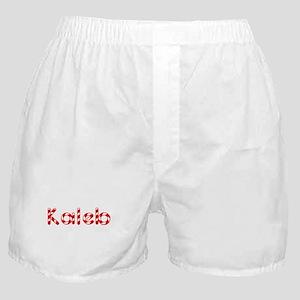 Kaleb - Candy Cane Boxer Shorts