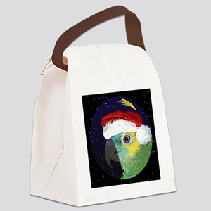 christmasnight_bluefrontedamazon Canvas Lunch Bag