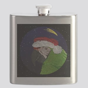 christmasnight_militarymacaw Flask