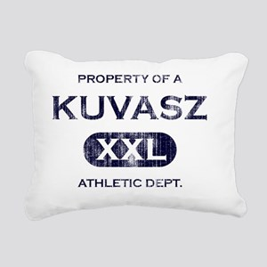 propertyof_kuvasz Rectangular Canvas Pillow