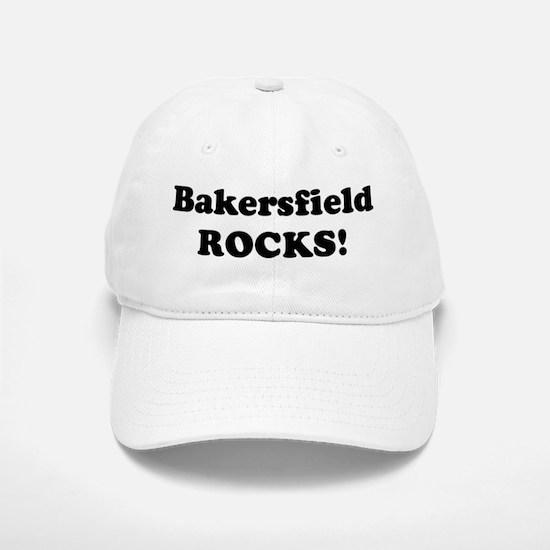 Bakersfield Rocks! Baseball Baseball Cap