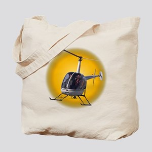 Helicopter Tote Bag Cool Aviation Gifts