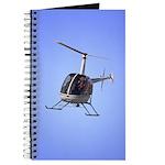 Helicopter Flying Aviator Journal