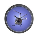 Helicopter Gifts Wall Clock Home & Office Gift