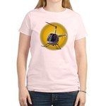 Women's Helicopter T-Shirt Helicopter Womens Gifts