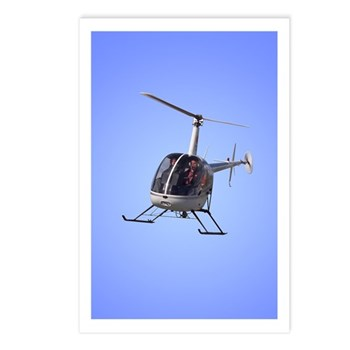 Helicopter Gifts Postcards (Package of 8)
