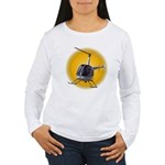 Helicopter Women's Long Sleeve T-Shirt Gifts