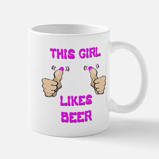 This Girl Likes Beer Mug
