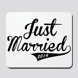 Just Married 2014 Mousepad