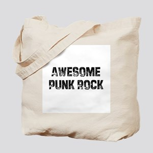 Awesome Punk Rock Tote Bag