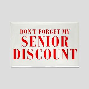 senior-discount-bod-red Rectangle Magnet