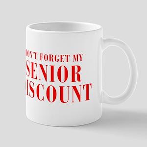 senior-discount-bod-red Mug
