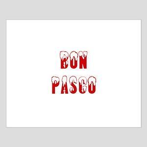 Bon Pasco Small Poster