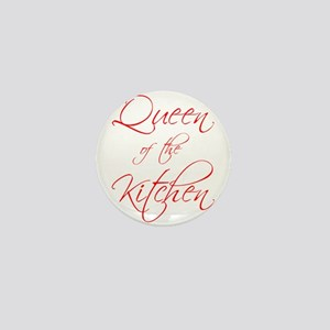 queen-of-kitchen-scr-red Mini Button