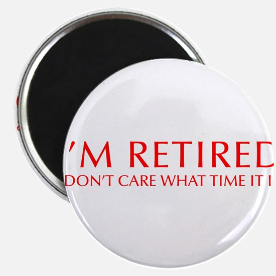 "Im-retired-OPT-RED 2.25"" Magnet (10 pack)"