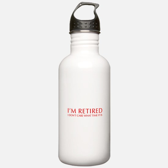 Im-retired-OPT-RED Water Bottle