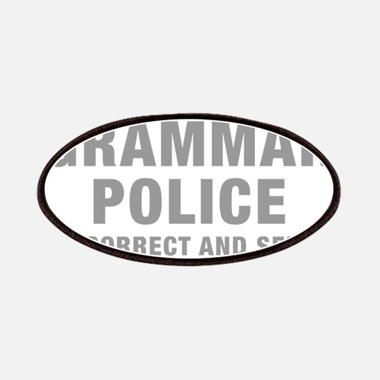 grammar-police-hel-gray Patches