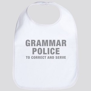 grammar-police-hel-gray Bib