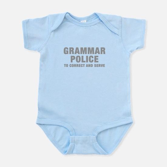 grammar-police-hel-gray Body Suit