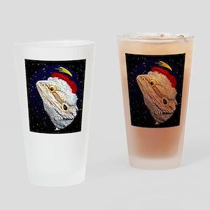 christmasnight_beardeddragon Drinking Glass