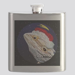 christmasnight_beardeddragon Flask